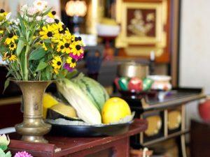314527df60ce201433b63795a953fa07-300x225 お盆のお供え物ののし・お花・お菓子について〜飾り方やマナーとは〜